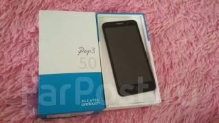 Alcatel POP 3 5 5015D. Б/у, до 8 Гб, Золотой, 3G, Dual-SIM