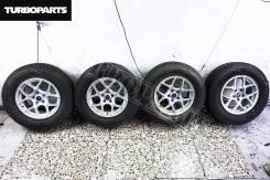 "Литье Bridgestone NR979 + Зимняя Резина Dunlop ''16 [Turboparts]. 6.5x16"" 5x114.30 ET40"