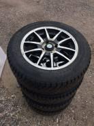 """Комплект колес 175/65/14 шипы Nokian hakka на литых дисках 4*100. 6.0x14"""" 4x100.00 ET35"""