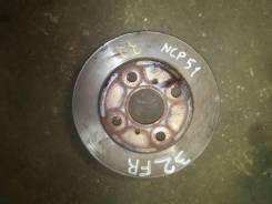 Диск тормозной передний, Probox, NCP51, 43512-52060