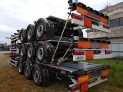 Kassbohrer. Полуприцеп-контейнеровоз SHG S/40, с площадкой, новый, 33 650кг.