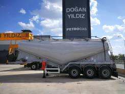 Dogan Yildiz. Цементовоз 34 куба, Турция, 2018г., компрессор. Реальная цена, наличие, 38 000кг.