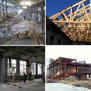 Монтаж конструкций из металла, реконструкция зданий