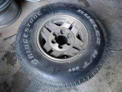 Запасное колесо . Toyota Hilux Surf Bridgestone Dueler H/T