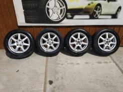 """Комплект литых колес 195/65R-15 с летней резиной. 6.0x15"""" 5x114.30 ET50 ЦО 63,0мм."""