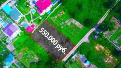 Ровный подготовленный участок для дома от собственника без комиссии. 1 000кв.м., собственность, от агентства недвижимости (посредник). Фото участка