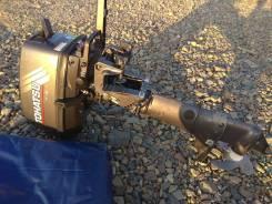 Tohatsu. 5,00л.с., 2-тактный, бензиновый, нога S (381 мм), 2012 год год