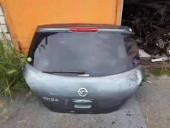 Дверь багажника. Nissan Tiida, NC11, JC11, C11, SC11 Двигатели: HR15DE, MR18DE, HR16DE