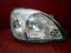 Фара правая Toyota Vitz/Yaris #cp 2002-2005 с электрокорректором