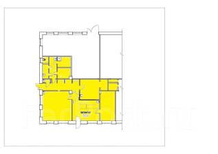 Помещение под кондитерскую/ офис с ремонтом, вода. 153кв.м., улица Административный Городок 4, р-н Центральная площадь. План помещения