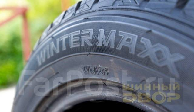 Dunlop Winter Maxx WM01. Зимние, без шипов, 2014 год, 10 %, 4 шт