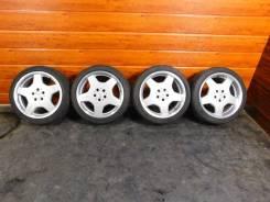"""Разноширокие диски AMG R18 на Mercedes. 8.5/9.5x18"""" 5x112.00 ET44/46"""