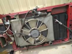 Мотор вентилятора охлаждения. Toyota Raum, NCZ20 Двигатель 1NZFE