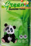 Green Bamboo Panda трусики M (7-12 кг) 50 шт. 7-12кг кг 50шт