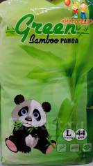 Green Bamboo Panda трусики L (9-14 кг) 44 шт. 9-14кг кг 44шт