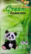 Green Bamboo Panda трусики XL (12-17 кг) 38 шт. 12-17кг кг 38шт