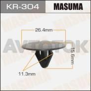 Клипса автомобильная (автокрепёж) Masuma 304-KR