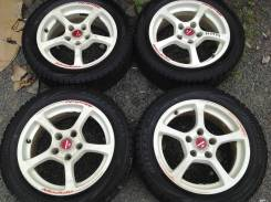 "Колёса 195/55R16 Bridgestone. Диски оригинал Honda Modulo 5x114.3. 6.0x16"" 5x114.30 ET45"