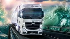 Mercedes-Benz Actros. SFTP 1845 LS 4x2, 12 800куб. см., 10 000кг., 4x2