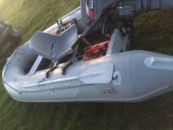 Badger Sport Line. длина 3,70м., двигатель подвесной, 15,00л.с., бензин