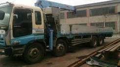 Isuzu Giga. Продаётся бортовой грузовик с манипулятором , 22 800куб. см., 14 000кг., 8x4