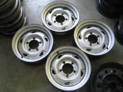"""Оригинальные штампованные диски Suzuki из Японии R15 5*139,7. 5.5x15"""", 5x139.70, ET5, ЦО 108,1мм."""