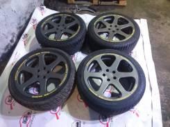 """Комплект колес ZEIT на гоночных шинах Pirelli. 7.5x17"""" 5x100.00 ET50"""