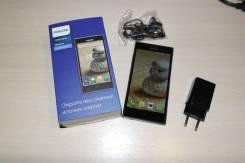 Philips Xenium V787. Б/у, 16 Гб, Черный, 3G, 4G LTE, Dual-SIM, Защищенный