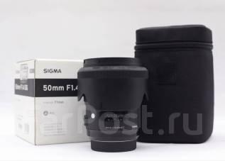 Объектив Sigma 50mm f/1.4 ART