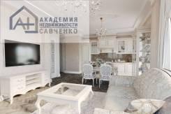 3-комнатная, улица Калинина 13 стр. 2. Чуркин, агентство, 74кв.м. Дизайн-проект