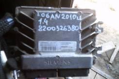Блок управления двс. Renault Logan, LS0G/LS12, LS0H, LS1Y Двигатели: K4M, K7J, K7M