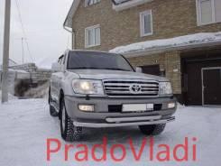 Накладка на дугу. Toyota Land Cruiser, FZJ100, HDJ100, HDJ100L, J100, UZJ100, UZJ100L, UZJ100W