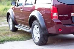 Расширитель крыла. Nissan Pathfinder, R51, R51M Двигатели: VQ40DE, YD25