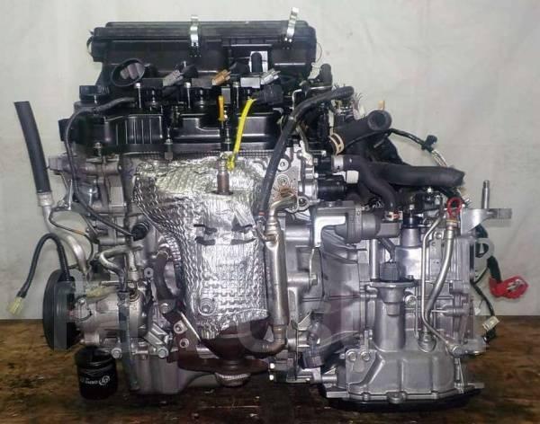 Двигатель с КПП, Daihatsu KF-VE - G613410 CVT FF LA300S коса+комп
