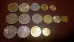 3 подборки монет Малави , Гонконг, Филлипины