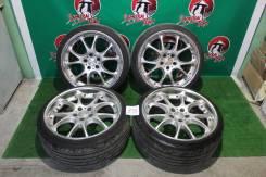 """Комплект колес R19 SSR Agle Strusse с шинами. 8.5/9.5x19"""" 5x114.30 ET43/43 ЦО 60,1мм."""