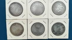 ФРГ 6 монет номиналом 10 марок