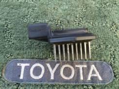 Реостат печки. Toyota Corolla Fielder, NZE121, NZE121G