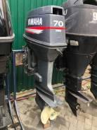 Yamaha. 70,00л.с., 2-тактный, бензиновый, нога L (508 мм), 2006 год год