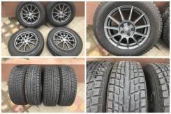 """215/65R16 yokohama 95% зима с дисками oz на Volkswagen. 6.5x16"""" 5x112.00 ET30 ЦО 57,1мм."""