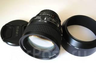 Объектив Nikon AF Nikkor 85mm 1:1.4D. Для Nikon, диаметр фильтра 77 мм