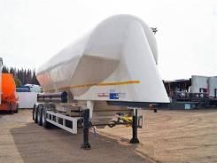 Kassbohrer. Цементовоз Касберрер (Германия) Алюминиевый 40 тонн, 4 800 кг, 40 000кг.