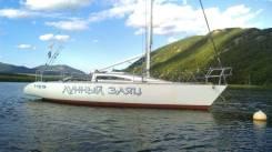 Продам парусную яхту. Срочнвя продажа. Длина 10,37м., 1992 год год