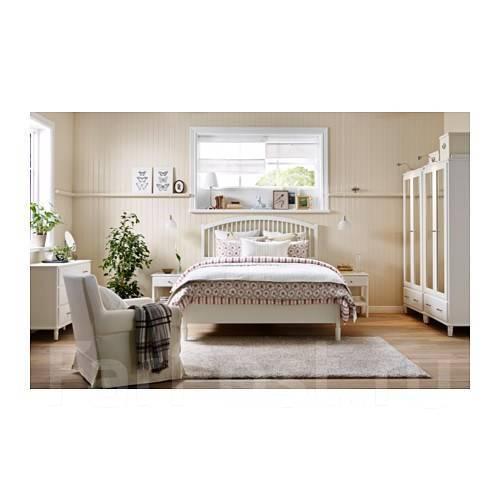 в наличии кровать двуспальная тисседаль Ikea 180200 см мебель во