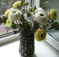 Цветы ручной работы из фоамирана