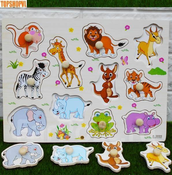 747e30a12303 Деревянная игрушка (рамка вкладыш), Животные - Игрушки во Владивостоке