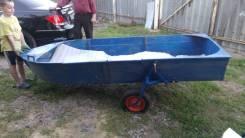 Продам лодку. 2005 год, длина 2,06м., двигатель без двигателя