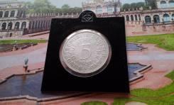 Серебро! ФРГ. 5 марок 1951 года. F. Cпец. цена!