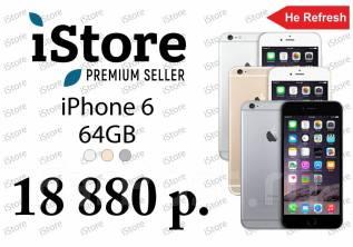 Apple iPhone 6. Новый, 64 Гб, Серый