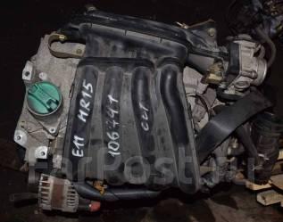 Двигатель в сборе. Nissan March, K12, YK12 Двигатели: HR15DE, MA09ERT, MA09RT, MA10ET, MA10T